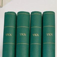 Cómics: PROMOCION 4 TOMOS TEX BURULAN EDICION TELA EXCELENTE ESTADO. Lote 267797044