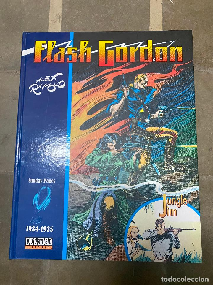 FLASH GORDON & JUNGLE JIM. 1934-1935. ALEX RAYMOND. 2017, DOLMEN EDITORIAL. (Tebeos y Comics - Buru-Lan - Flash Gordon)