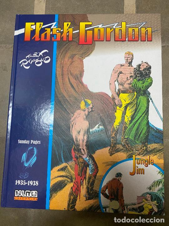 FLASH GORDON & JUNGLE JIM. 1935-1938. ALEX RAYMOND. 2017, DOLMEN EDITORIAL. (Tebeos y Comics - Buru-Lan - Flash Gordon)