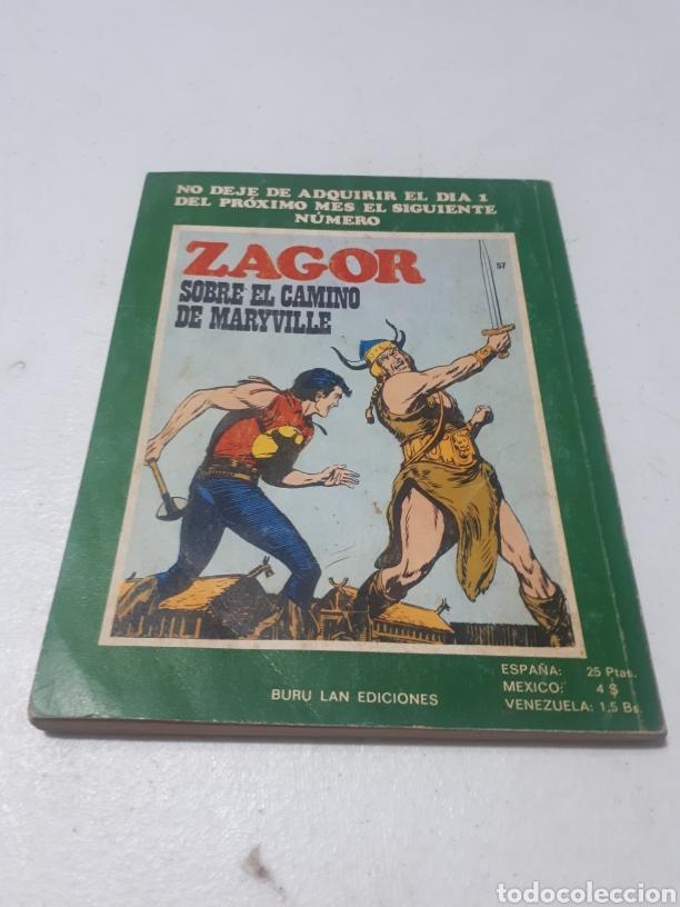 Cómics: ZAGOR J DE PIC N° 56 BURU LAN S.A. DE EDICIONES - Foto 4 - 269063178