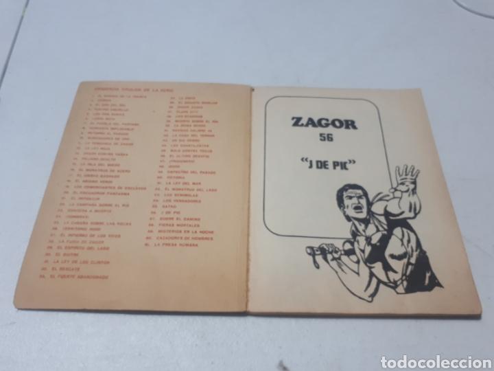 Cómics: ZAGOR J DE PIC N° 56 BURU LAN S.A. DE EDICIONES - Foto 5 - 269063178
