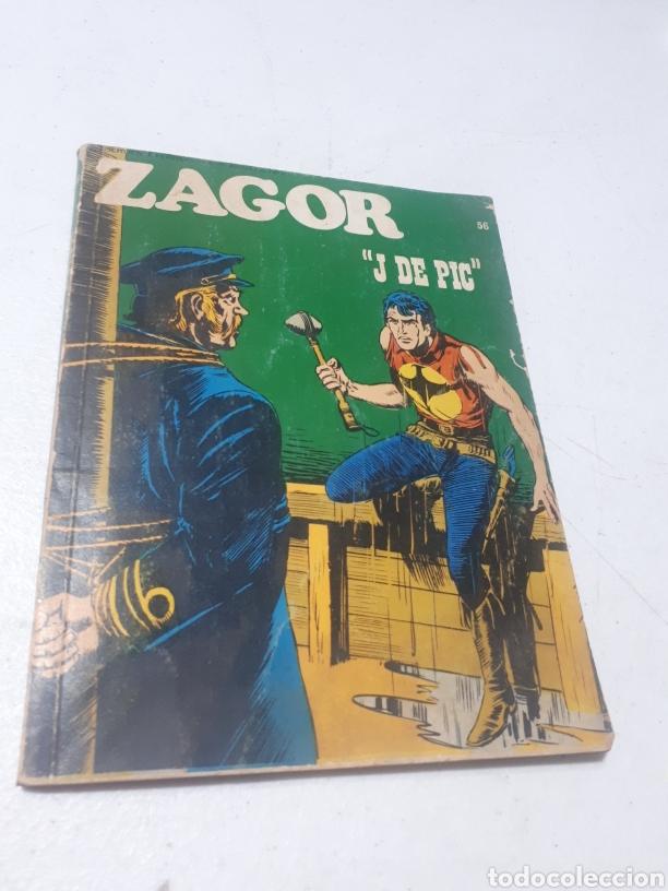 ZAGOR J DE PIC N° 56 BURU LAN S.A. DE EDICIONES (Tebeos y Comics - Buru-Lan - Zagor)