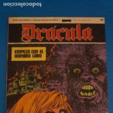 Cómics: COMIC DE DRÁCULA EMPEZO CON EL HOMBRE LOBO AÑO 1970 Nº 44 DE EDICIONES BURU LAN LOTE 27 F. Lote 269215748