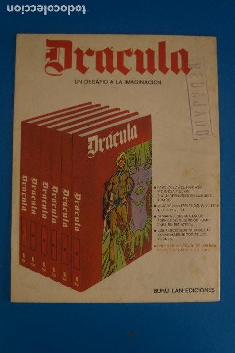 Cómics: COMIC DE DRÁCULA AGENCIA DEL CRIMEN AÑO 1970 Nº 27 DE EDICIONES BURU LAN LOTE 27 F - Foto 2 - 269218348