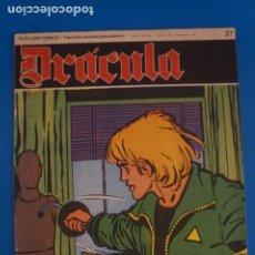 Cómics: COMIC DE DRÁCULA AGENCIA DEL CRIMEN AÑO 1970 Nº 27 DE EDICIONES BURU LAN LOTE 27 F. Lote 269218348