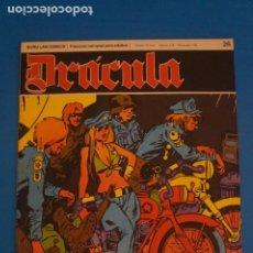 Cómics: COMIC DE DRÁCULA LOS SALVAJES DEL CUERO NEGRO AÑO 1970 Nº 26 DE EDICIONES BURU LAN LOTE 27 F. Lote 269218503