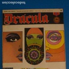 Cómics: COMIC DE DRÁCULA SOMBRA VIVA AÑO 1970 Nº 16 DE EDICIONES BURU LAN LOTE 27 F. Lote 269218613