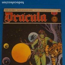 Cómics: COMIC DE DRÁCULA EL SONIDO DEL SILENCIO AÑO 1970 Nº 15 DE EDICIONES BURU LAN LOTE 27 F. Lote 269218753