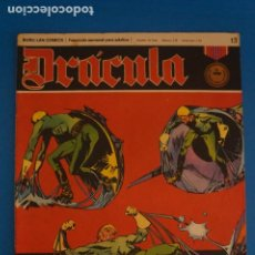 Cómics: COMIC DE DRÁCULA LA FUERZA MAGNETICA AÑO 1970 Nº 13 DE EDICIONES BURU LAN LOTE 27 F. Lote 269218883