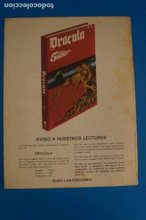 Cómics: COMIC DE DRÁCULA EL ENIGMA DE MY AÑO 1970 Nº 12 DE EDICIONES BURU LAN LOTE 27 F - Foto 2 - 269219083