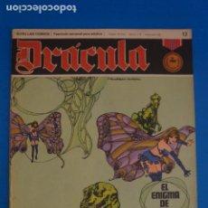 Cómics: COMIC DE DRÁCULA EL ENIGMA DE MY AÑO 1970 Nº 12 DE EDICIONES BURU LAN LOTE 27 F. Lote 269219083