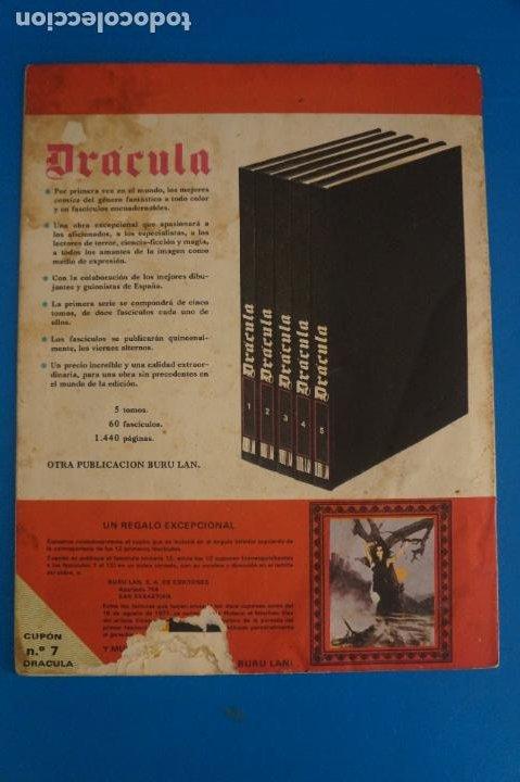 Cómics: COMIC DE DRÁCULA WOLFF AÑO 1970 Nº 7 DE EDICIONES BURU LAN LOTE 27 F - Foto 2 - 269219398