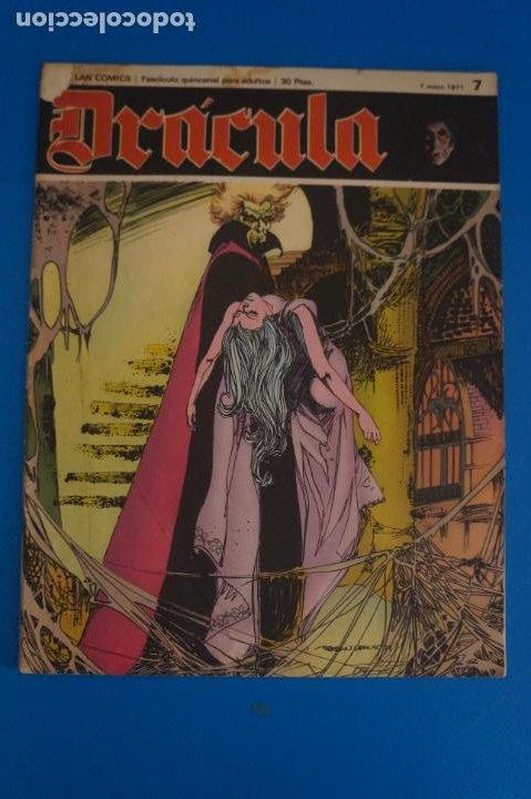 COMIC DE DRÁCULA WOLFF AÑO 1970 Nº 7 DE EDICIONES BURU LAN LOTE 27 F (Tebeos y Comics - Buru-Lan - Drácula)