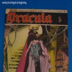 Cómics: COMIC DE DRÁCULA WOLFF AÑO 1970 Nº 7 DE EDICIONES BURU LAN LOTE 27 F. Lote 269219398