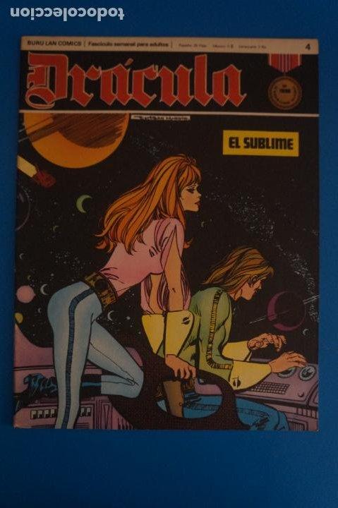 COMIC DE DRÁCULA EL SUBLIME AÑO 1970 Nº 4 DE EDICIONES BURU LAN LOTE 27 F (Tebeos y Comics - Buru-Lan - Drácula)