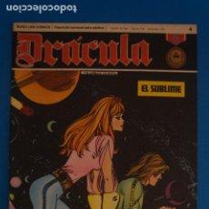 Cómics: COMIC DE DRÁCULA EL SUBLIME AÑO 1970 Nº 4 DE EDICIONES BURU LAN LOTE 27 F. Lote 269219583