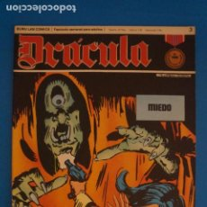 Cómics: COMIC DE DRÁCULA MIEDO AÑO 1970 Nº 3 DE EDICIONES BURU LAN LOTE 27 F. Lote 269219683