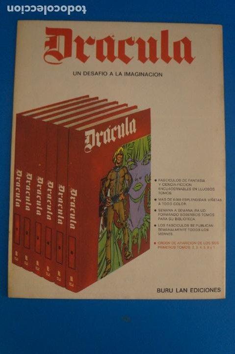 Cómics: COMIC DE DRÁCULA ASTEROIDE PIRATA AÑO 1970 Nº 2 DE EDICIONES BURU LAN LOTE 27 F - Foto 2 - 269219798