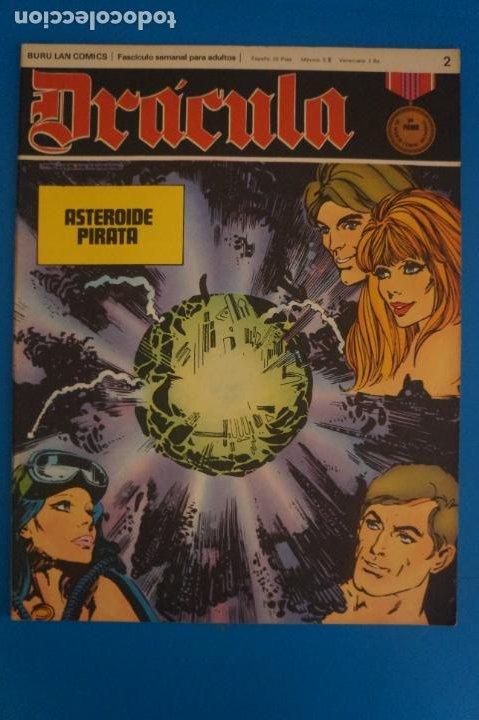 COMIC DE DRÁCULA ASTEROIDE PIRATA AÑO 1970 Nº 2 DE EDICIONES BURU LAN LOTE 27 F (Tebeos y Comics - Buru-Lan - Drácula)