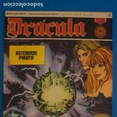 Cómics: COMIC DE DRÁCULA ASTEROIDE PIRATA AÑO 1970 Nº 2 DE EDICIONES BURU LAN LOTE 27 F. Lote 269219798