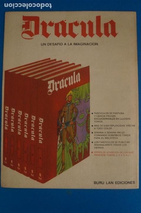 Cómics: COMIC DE DRÁCULA EXPLORADORES DEL ESPACIO AÑO 1970 Nº 1 DE EDICIONES BURU LAN LOTE 27 F - Foto 2 - 269219943