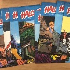 Cómics: HALCONES DE ACERO. NUMEROS 1-4-5-6-7-8-9-10-12. BURULAN. 1974. Lote 269803208