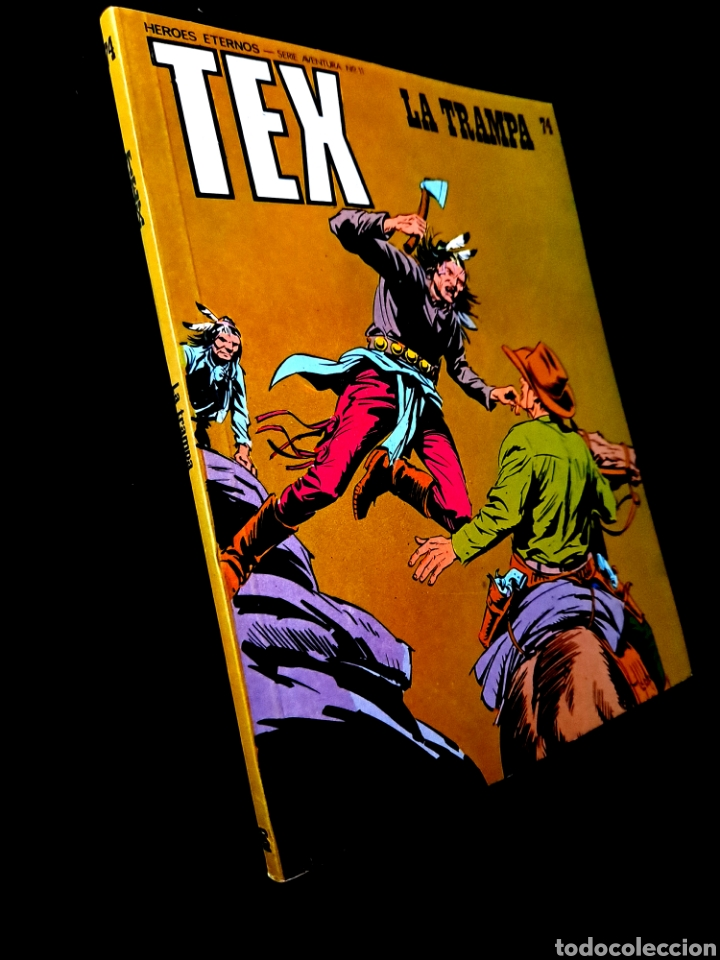EXCELENTE ESTADO TEX 74 BURU LAN (Tebeos y Comics - Buru-Lan - Tex)