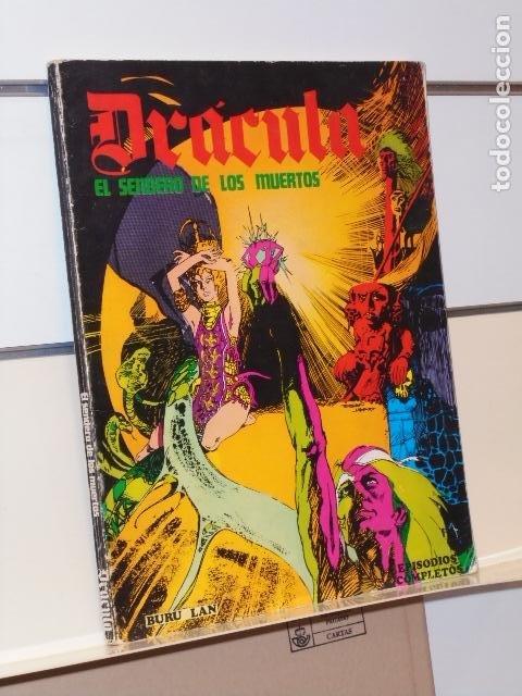 DRACULA EL SENDERO DE LOS MUERTOS - BURU LAN OCASION (Tebeos y Comics - Buru-Lan - Drácula)