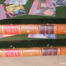 Cómics: BURU LAN 1973 - JOHNNY HAZARD 1 2 3 4 5 6 7 8 9 10 11 COMPLETA EN 2 ENCUADERNACIONES - BURULAND. Lote 271001328
