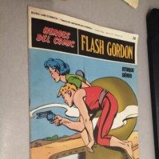 Cómics: FLASH GORDON Nº 28: ATAQUE AÉREO / HÉROES DEL CÓMIC - BURU LAN. Lote 271333513