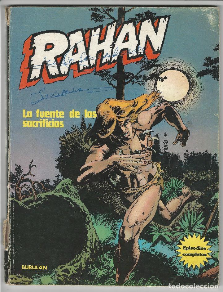 BURU LAN. RAHAN. LA FUENTE DE LOS SACRIFICIOS. (Tebeos y Comics - Buru-Lan - Rahan)