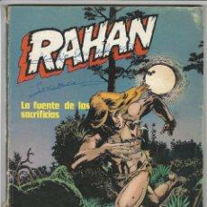 Cómics: BURU LAN. RAHAN. LA FUENTE DE LOS SACRIFICIOS.. Lote 271298353