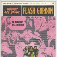 Comics : BURU LAN. HÉROES DEL CÓMIC. FLASH GORDON. 48. Lote 271326638