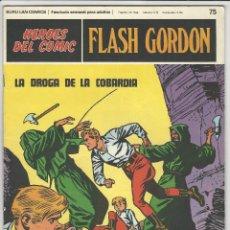 Comics : BURU LAN. HÉROES DEL CÓMIC. FLASH GORDON. 75. Lote 271327193
