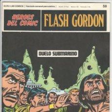 Comics : BURU LAN. HÉROES DEL CÓMIC. FLASH GORDON. 59. Lote 271344523