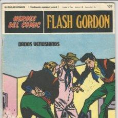 Cómics: BURU LAN. H�ROES DEL C�MIC. FLASH GORDON. 107. Lote 271344603