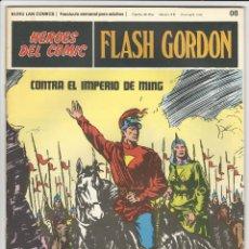 Cómics: BURU LAN. H�ROES DEL C�MIC. FLASH GORDON. 8. Lote 271351958