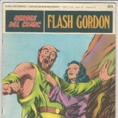 Cómics: BURU LAN. H�ROES DEL C�MIC. FLASH GORDON. 13. Lote 271351963