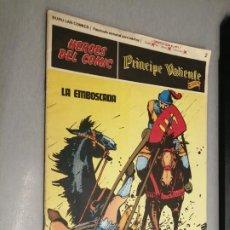Cómics: PRÍNCIPE VALIENTE Nº 2: LA EMBOSCADA / HÉROES DEL CÓMIC - BURU LAN. Lote 271362208