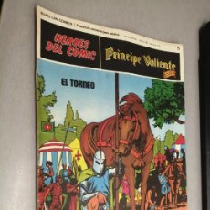 Cómics: PRÍNCIPE VALIENTE Nº 5: EL TORNEO / HÉROES DEL CÓMIC - BURU LAN. Lote 271365048