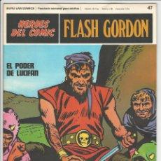 Cómics: BURU LAN. H�ROES DEL C�MIC. FLASH GORDON. 47. Lote 271351998