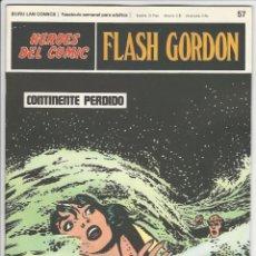 Cómics: BURU LAN. H�ROES DEL C�MIC. FLASH GORDON. 57. Lote 271352008