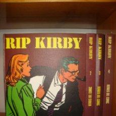 Cómics: RIP KIRBY. COMPLETO EN 4 TOMOS - BURU LAN, 1973, MUY BUEN ESTADO. Lote 271570333