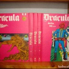 Cómics: DRÁCULA. TOMOS 2, 3, 4, 5 Y 6 - BURU LAN, 1972, MUY BUEN ESTADO. Lote 271577373