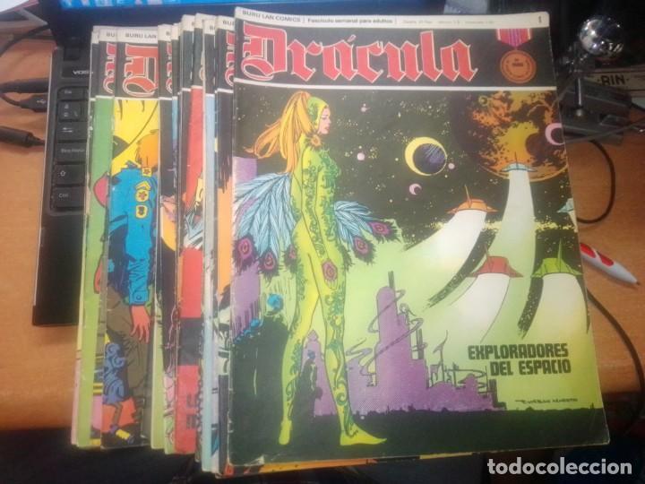 LOTE DRACULA BURU LAN EDICIONES FASCICULOS (Tebeos y Comics - Buru-Lan - Drácula)