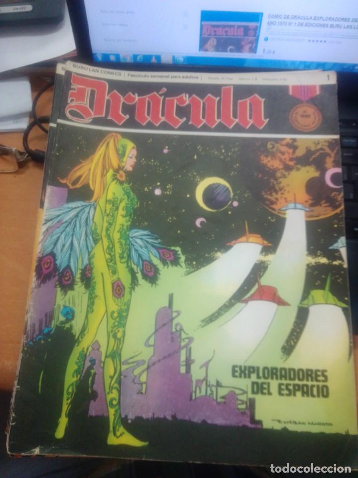 Cómics: LOTE DRACULA BURU LAN EDICIONES FASCICULOS - Foto 2 - 271601678