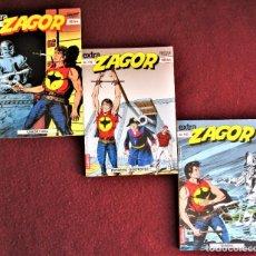Cómics: ZAGOR TRES COMICS EN CROATA, PARA AMANTES DE ZAGOR. DE TIENDA. Lote 272219778