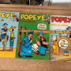 Cómics: 3 CÓMICS POPEYE. Lote 272675478