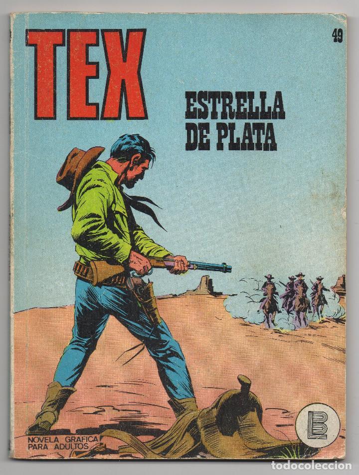 Cómics: TEX nº 44, 46, 49, 51, 54, 56, 57, 60, 61, 65 y 69 (Buru-Lan 1972/73) 11 novelas. - Foto 8 - 243128705