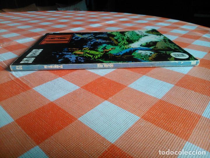 Cómics: TEX nº 44, 46, 49, 51, 54, 56, 57, 60, 61, 65 y 69 (Buru-Lan 1972/73) 11 novelas. - Foto 12 - 243128705